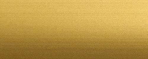 Alluminio anodizzato oro