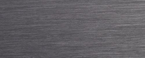 Aluminium brossé noir