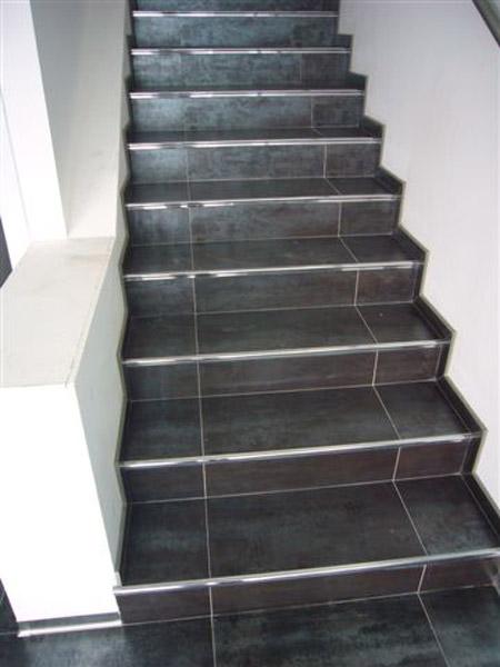 Prostyle in acciaio inox aisi 304 lucido for Profili per gradini in acciaio