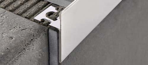 Protermstep acc in acciaio inox aisi 304 lucido for Profili per gradini in acciaio