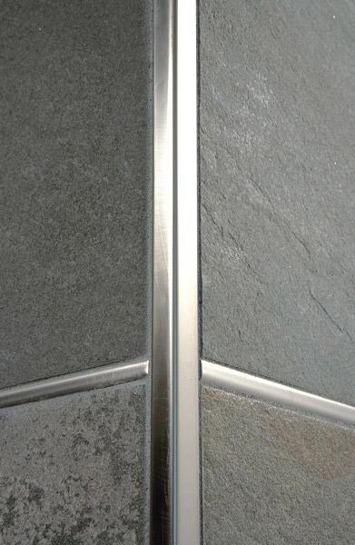 Prolistel all in alluminio anodizzato brillantato e spazzolato profilo per rivestimenti - Angolari per piastrelle ...