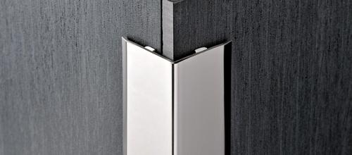 Proedge in acciaio inox aisi 304 lucido e - Paraspigoli per piastrelle ...