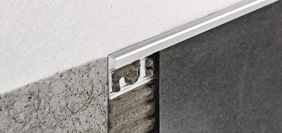 Projolly square bassi spessori in alluminio anodizzato for Angolo jolly piastrelle
