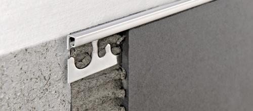 Projolly square bassi spessori in acciaio inox aisi 304 lucido super lucido e - Paraspigoli per piastrelle bagno ...