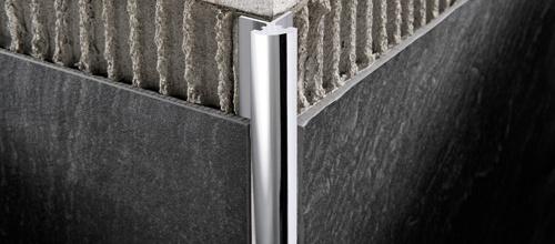Prokerlam jolly in alluminio anodizzato e brillantato - Profili jolly per piastrelle ...
