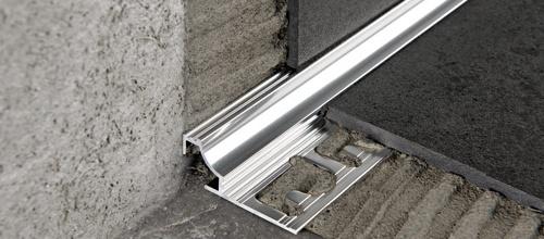 Aluminio anodizado y brillo plata cromo y oro - Tagliare piastrelle gres con flessibile ...