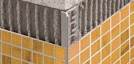 Alluminio anodizzato Argento, verniciato e Alluminio stone line