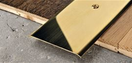 POLISHED BRASS SELF ADHESIVE or PUNCHED
