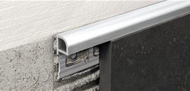 Alluminio spazzolato brillantato, spazzolato, alluminio verniciato