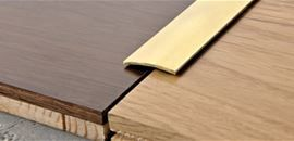 POLISHED BRASS with ADHESIVE with PROTECTIVE FILM