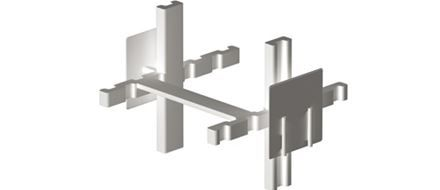 Spacers for glass blocks