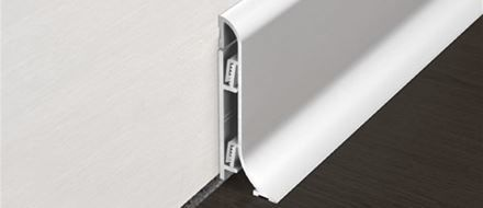 Skirting Boards In Aluminium And Pvc Contemporary Design