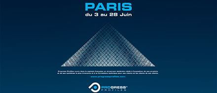 A SHOWROOM IN PARIS IN JUNE