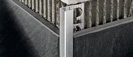 Projolly square profilo per rivestimenti progress profiles - Profilo rivestimento bagno ...