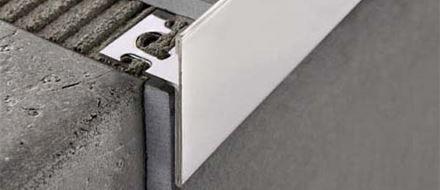 Profili per gradini e scale progress profiles - Profili acciaio per piastrelle prezzi ...