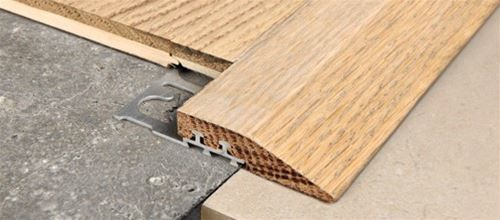 Profiles For Floors And Tiles Progress Profiles - Sloped floor transitions